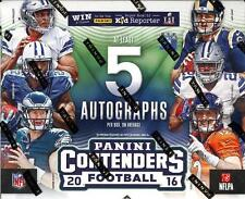 2016 Panini Contenders Football - Complete Your Set - Base Cards - #'s 65-99