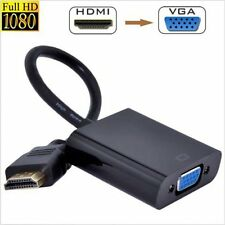 HDMI Male to VGA RGB Female HDMI to VGA Video Converter adapter 1080P for PC OY