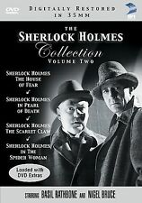The Sherlock Holmes Collection Volume 2 Two (Pearl Death Scarlet Claw Spider NEW