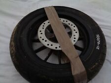 2003 APRILIA HABANA 125 SCOOTER MOPED PART FRONT WHEEL AND BRAKE DISC