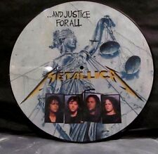 Metallica ....And Justice For All Picture Disc LP RARE Deep Clean