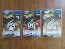 HOT WHEELS MILITARY RODS LOT OF 3 BLUE ANGELS THUNDERBIRDS AIR FORCE NEW JMSR21