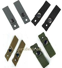 Tactical Army Helmet Universal Goggle Retention Straps Band DIY WG BK/GR/ACU/KK