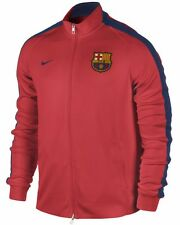 NIKE FC BARCELONA AUTHENTIC N98 TRACK JACKET Crimson/Navy