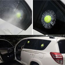 3D Car Stickers  Self Adhesive Baseball Tennis Decal Accessories