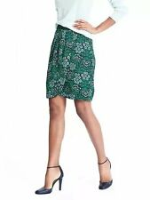 NWT BANANA REPUBLIC Women $78 Floral Ruched Tulip Skirt, Sz 0, 8, 12, 14