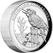 2016 Australian Kookaburra 5oz Silver Proof High Relief Coin