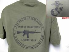 USMC T-SHIRT/ AFGHANISTAN COMBAT OPERATIONS T-SHIRT