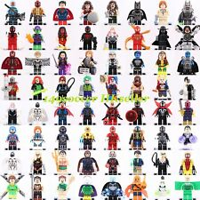 Marvel Dc comic Batman Superman X-Men Deadpool The Flash Superheroes Custom Lego