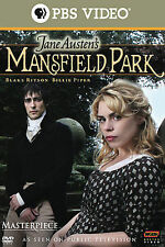 Mansfield Park (DVD, 2008) Region 1 New