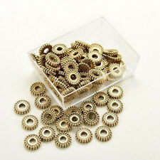 Making Findings Jewelry DIY Beads Tibet Silver Loose Spacer Beads