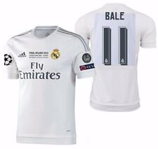 ADIDAS GARETH BALE REAL MADRID AUTHENTIC FINAL UCL MATCH JERSEY 2015/16.