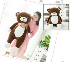 "75cm/30"" Lovely Soft Teddy Bear Pillow Cushion Stuffed Animal Plush Toy Doll"