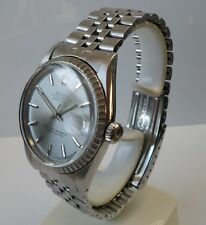 ♛ Rolex 1603 Oyster Perpetual  Datejust, stainless steel 36mm Gents, plus Box.