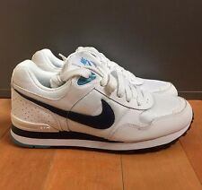 NIKE MS78 LE WHITE NAVY CHLORINE BLUE CASUAL RUNNING SZ 7.5-13  386156-105
