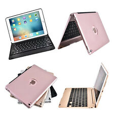 Luxury Slim Aluminum Bluetooth Keyboard with Clamshell Case Cover For iPad Mini