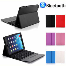 Stand PU Leather Cover Case With Bluetooth Keyboard For Apple iPad Air/2 2/3/4
