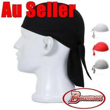 Cotton Durags Du Rag Cap Doo Rag Skully Chef Pirate Sports Biker Hat Headwrap