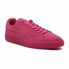 361881-01 PUMA EMBOSS ICED FLUO BEETROOT PURPLE SUEDE MEN SHOES SNEAKERS E