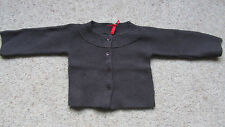 Elle Baby Girls Brown Chunky Knitted Cardigan  Size; 12 Mths BNWT