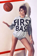 NEW FIRST BASE OVERSIZED JUMPER