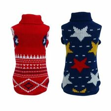 Lovely Pet Dog Warm Clothes Puppy Cats Shirt Sweater Apparel Jacket Coat Costume