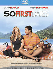 50 FIRST DATES Sealed Blu-ray Adam Sandler Drew Barrymore NEW