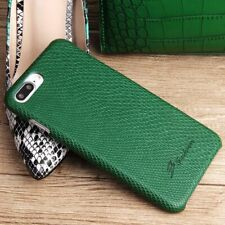 COOL Snake Skin PU Leather Hard Back Case Cover For Apple iPhone 7 7+ 8 /8 Plus