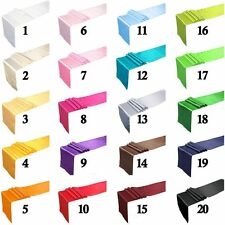 "11.81"" x 108.27"" Satin Table Runner Wedding Banquet Party Decor Supply 24 Colors"