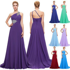 Gorgeous Bridesmaid Long Evening Prom Dress Party Cocktail Lilac Wedding Gowns