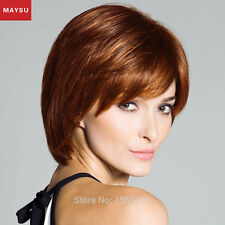 Short Human Hair Wigs For Women Side Parting Wigs Brazilian Virgin Hair Wig