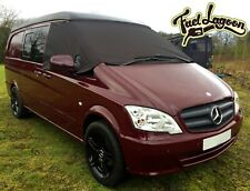 Mercedes Benz Vito 369 Front Window Screen Cover Black Out Blind Frost Wrap