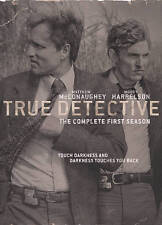 True Detective: The Complete First Season (DVD, 2015, 3-Disc Set)New