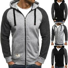 OZONEE 835 Men's Hooded Pullover Sweatshirt Jumper Hoodie Sweater jacket