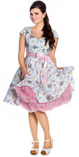 NEW HELL BUNNY MINT GREEN SPRING EASTER 50s ROCKABILLY SWING RETRO VINTAGE DRESS