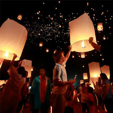 1pc Chinese KongMing Sky Flying Lanterns Fire Light Wedding Wishing Lamp
