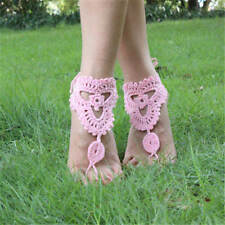 Dance Wedding Beach Foot Jewelry Crochet Barefoot Anklet Knit Anklet Sandals