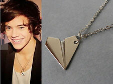One direction necklace. Harry Styles paper airplane.1D gold tone or silver color