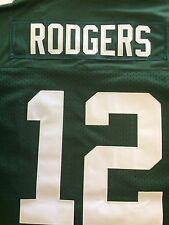 NFL NIKE ON FIELD GREEN BAY PACKERS #12 AARON RODGERS JERSEY SZ-48 NWT