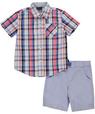 "Nautica Little Boys' Toddler ""Wave Break"" 2-Piece Outfit (Sizes 2T - 4T)"
