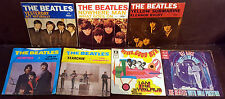 LOT OF 7 BEATLES SINGLES W PICTURE SLEEVES
