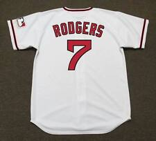 BUCK RODGERS California Angels 1969 Majestic Cooperstown Home Baseball Jersey