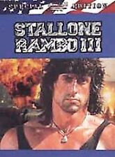 DVD  Rambo 3 SPECIAL W/SYLVESTER STALLONE INCLUDE RAMBO 2 BOTH FOR $12.98