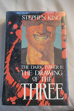 STEPHEN KING DARK TOWER II THE DRAWING OF THE THREE 1987 GRANT FIRST ED EX-LIB