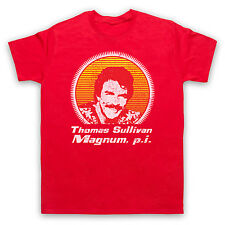 MAGNUM, P.I. TOM SELLECK HAWAII 80s TV UNOFFICIAL T-SHIRT MENS LADIES KIDS SIZES