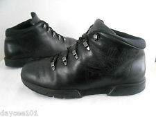 TIMBERLAND EURO SPRINT BOOTS SIZE 9.5 M MENS BLACK LEATHER HIKING / WALKING