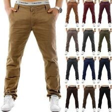 CHINOS Trend str Style Trousers Regular Fit Pants Jeans Classic Plus