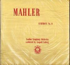 Mahler Symphony no 9 UK world record club DOUBLE  EXCELLENT COPY