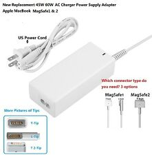 New 45W 60W AC Charger Power Supply Adapter Apple MacBook air& Pro1& 2 replaceme
