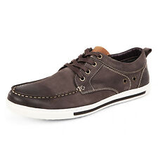Newly Men's Casual Shoes Fashion Lace Up Round Toe Sneakers Breathable Flats